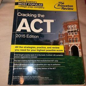 PRINCETON REVIEW ACT BOOK